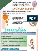 POINT defensa civil en el perú1.ppt