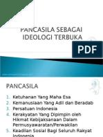 PANCASILA SEBAGAI IDEOLOGI TERBUKA, PRISTIYANTO, SS