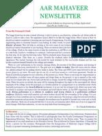 [16] AAR Mahaveer Newsletter Oct 2014