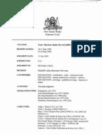 TradvHarbour Radio Pty Ltd 2009 NSWSC 750 2