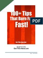 100 Tips That Burn Fat Fast 74815