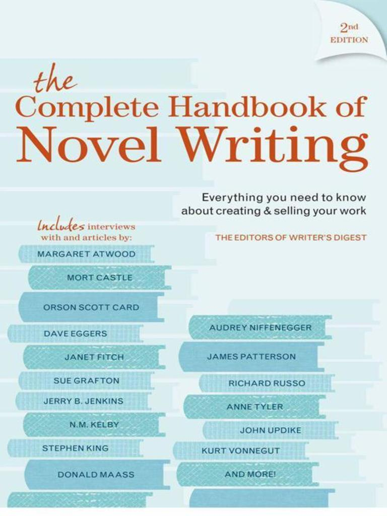 The Complete Handbook of Novel Writing by Editors of Writer\'s Digest ...
