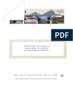 Administracion de las minas en Epoca Romana. Su evolucion (Jose Maria Blazquez)