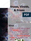 Virus,Viroids and Prions