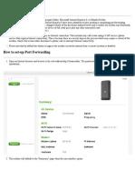 CLEAR Hub Express - Port Forwarding