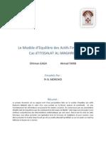 Modèle d'équilibre des actifs financiers MEDAF ( CAPM)