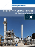 Heat Recovery Steam Generators Optimized for Any Application
