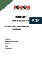Chemistry Izzaty