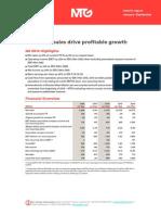 Hospodářské výsledky MTG za Q3 2014