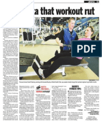 David Pickering, Keeping Fit, Sun Media (Aug. 3, 2009)