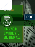 Top 5 High Yield Stocks