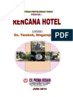 Final Report . Rencana Hotel Ds. Tembok