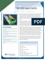 Quanta-Ray Pulsed YAG laser