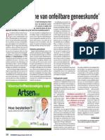 'Doorprik mythe van onfeilbare geneeskunde'
