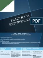 practicum experiences