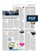 Mafia contro legalità / Studenti al voto, tre liste e scelta telematica - Il Messaggero del 22 ottobre 2014
