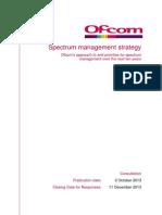 UK Spectrum Management Strategy in Next Ten Years