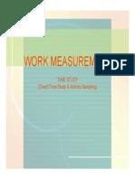 3.1 Work Measurement_Time Study_W4