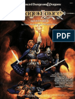 TSR 2021 - Dragonlance Adventures Hardcover