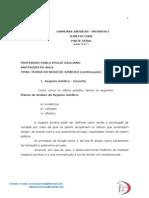 Dir.Civil Aula 10 e 11 Pablo Stolze Negócio Jurídico -continuação.pdf