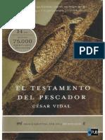 El testamento del pescador - Cesar Vidal.pdf