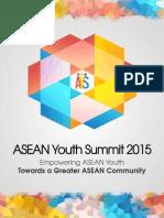 ASEAN Youth Summit Delegates Primer