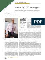 Como criar e reter 650 000 empregos? | Artigo de Luís Gonzaga Ribeiro, Diretor Comercial Randstad | Revista Pessoal
