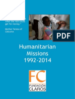General Magazine of Humanitarian trips by Clarós Foundation