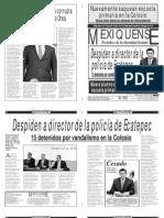 Diario El mexiquense 23 octubre 2014