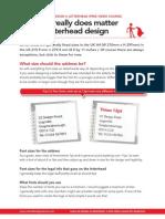 3 Learn Letterhead Design