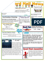 School Newsletter from 12th Sept. to 17th October 2014