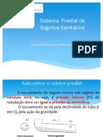 aula 9 - sistema Predial de esgoto Sanitário.pdf