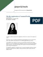 Let's Talk Tax.01-13-09.On registration of manual books.MBS.pdf