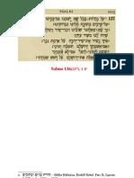 catequese - Junto dos rios da Babilônia - Salmo 136