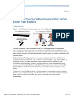 Cisco TelePresence Video Communication Server Starter Pack Express