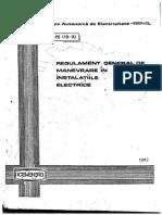 PE 118-92 - Regulament general de manevre in instalatiile electrice (RGM).pdf