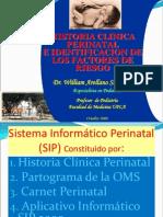 Historia Clinica Perinatal e Identificación  de Factores de Riesgo.ppt