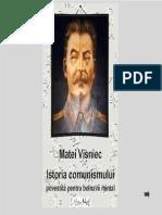 Visniec, Matei - Istoria comunismului povestita pentru bolnavi mintali.pdf