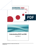 Understanding DHCP and DNS (Cisco - 2003)