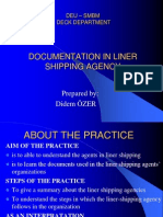 Documentation in Liner Shipping Agencies