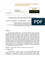 Material Selection for Unmanned Aerial Vehicle