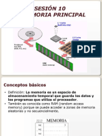 SESION 10 - MEMORIA PRINCIPAL.ppt