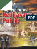 Implementasi Kebijakan Publik t