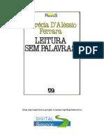 Lucrécia D´Alessio Ferrara - Leitura sem palavras (doc) (rev.doc