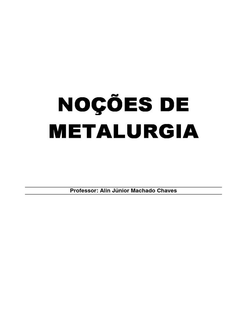 Pdf Metalurgia