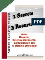 1 SECRETO 3 RECURSOS