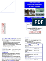 Central New York Stormwater Management Training Program