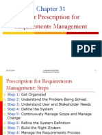 Ch31 Your Prescription for Requirements Management