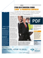 """Randstad distinguida como a """"melhor"""" a promover emprego"""