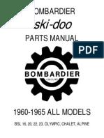 1960 1965 Ski Doo Parts